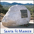 Santa Fe Internment Camp Marker